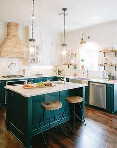 joanna gaines39s best kitchen update tips purewow With kitchen colors with white cabinets with instagram sticker for car