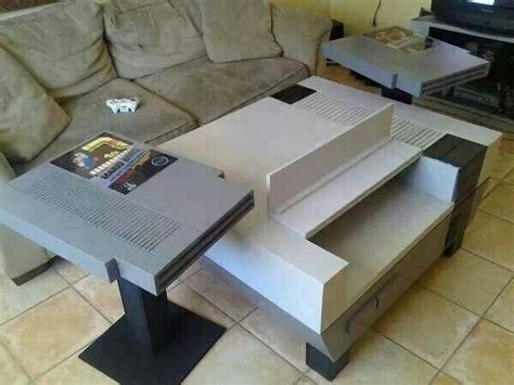 Nintendo Coffee Table For Man Cave Lol Home Sweet Home