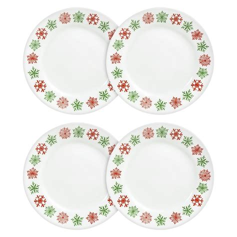corelle dinnerware christmas sets target plate holiday plates dishes appetizer