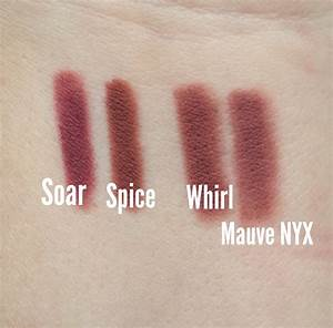 MOTD & MAC lip liner swatches! Soar, Spice and Whirl ...