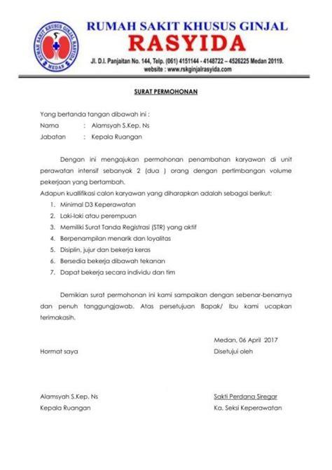 Contoh Surat Perintah Resmi by Contoh Surat Resmi Beserta Pengertian Jenis Cara Membuat