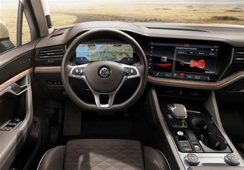 Interni Touareg - foto volkswagen touareg interni patentati