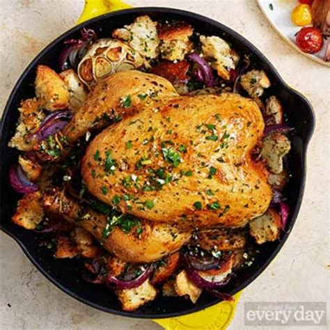 pan roasted chicken dinners rachael ray  day