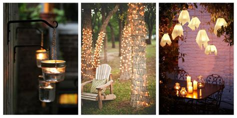 diy garden lighting ideas www pixshark images