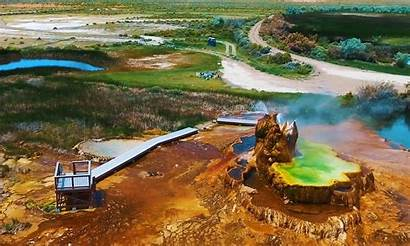 Fly Geyser Nevada Geiser Usa Washoe Ranch