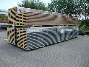 Isolierte Trapezbleche Sandwichplatten : 30 88 m sandwichplatten dach 40mm rotbraun ~ Sanjose-hotels-ca.com Haus und Dekorationen