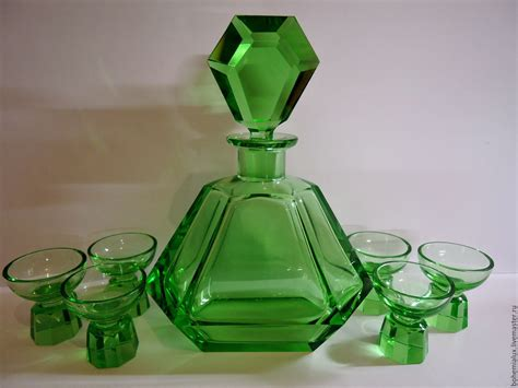 Set Decanter 6 Shot Glasses R. Hlousek 1930s Art Deco Simple Bathroom Decor Ideas Tile Or Wood Baseboard In For Small Bathrooms Pictures Slate Pinterest Trim Pottery Barn Decorative Wall Tiles