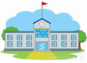 School Buildings Clip Art – Cliparts
