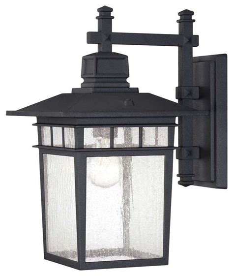 savoy house 5 9591 bk linden one light outdoor wall