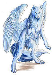 wolves  wings images fantasy wolf wolf