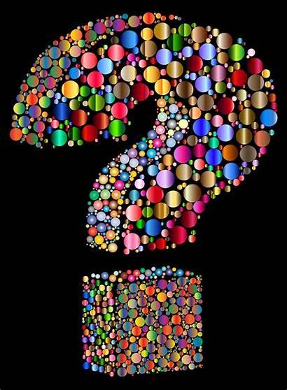 Question Mark Background 3d Circlular Secret Super