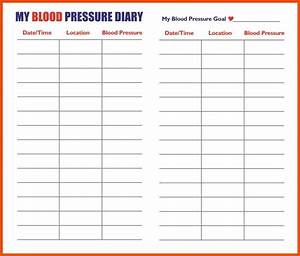 Blood Pressure Recording Chart For Adults Blood Pressure Chart Template Cnbam