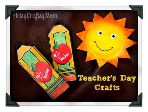 teachers day pencil shaped card  printable template