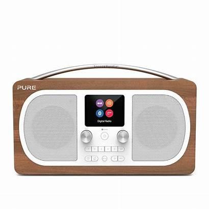 Dab Pure Radio Evoke H6 Walnut Ligo