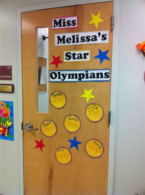 olympics theme classroom doors and bulletin boards 714 | 1ab79947e4652bb98e0fdfe15aef839f