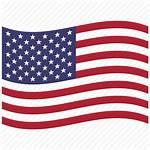Usa Flag American Icon Waving America Icons
