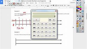 Module 1 Lesson 12  Double Number Line Diagrams