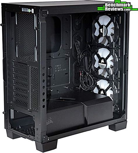 Corsair Crystal 460X RGB Compact ATX Mid-Tower Case Review