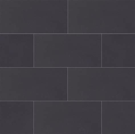 plane 15 x 30 floor wall tile in true black tiles