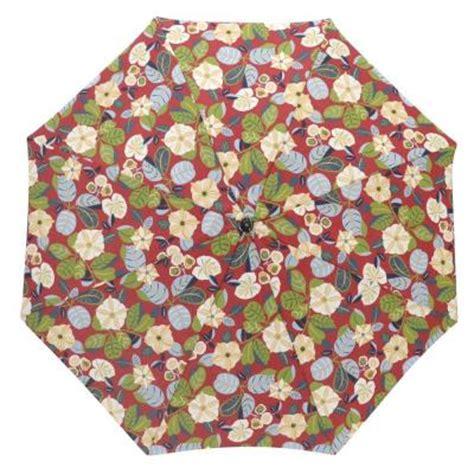 plantation patterns 7 1 2 ft patio umbrella in orient