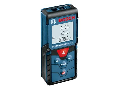 bosch glm40 40 metre laser measurer range finder