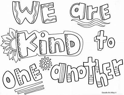 Coloring Rules Pages Classroom Kind Behavior Expectations