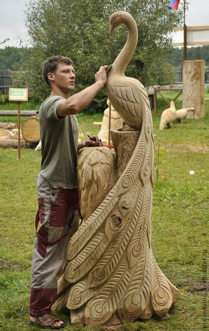 peacocks carving  sculpture  pinterest