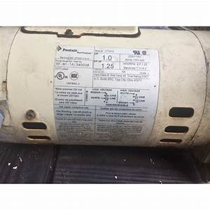 A O  Smith 1 Hp Square Flange 56y Up Rate Motor
