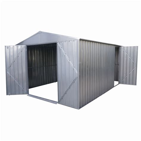 Qiq Fix Sheds by Qiq Fix 3 0w X 4 5d X 1 9hm Zinc Gable Workshop Shed