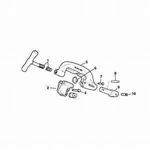 Ridgid 33400 Roll Housing Assembly For No  360 Cutter