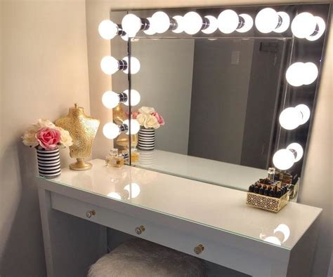Vanity Desk Mirror With Lights by Vanity Mirror With Desk Lights 8 Steps With Pictures
