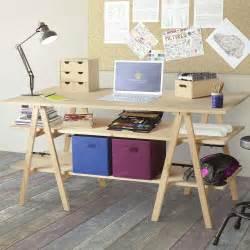 Bureau Avec Treteau Pas Cher by Bureau Treteau