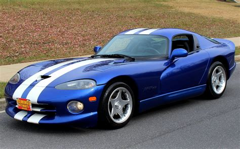 old car manuals online 1997 dodge viper electronic valve timing 1997 dodge viper gts 1997 dodge viper gts for sale to buy or purchase 20000 original miles
