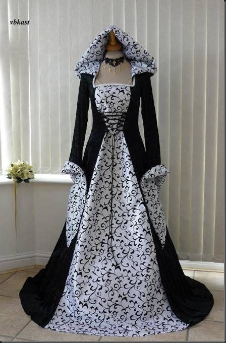 gothic black and white wedding dresses wedding gowns