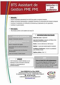 Calameo bts assistant de gestion pme pmi isfa evreux for Bts chambre des metiers evreux