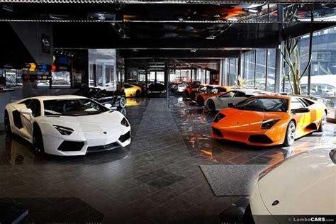 lamborghini showroom   opened  month news