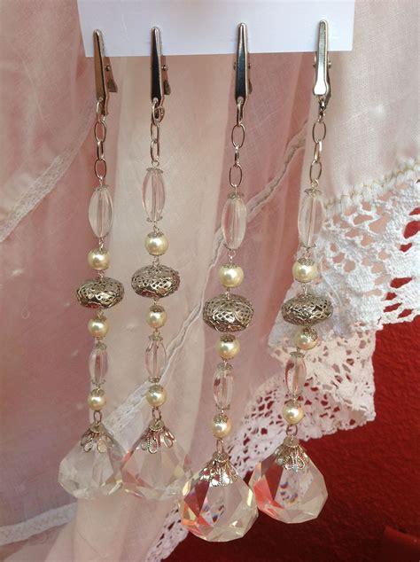 broches para cortinas sujeta manteles bag charm blessings pinterest