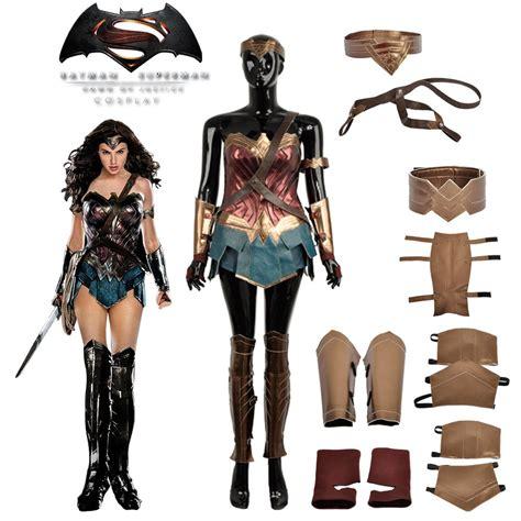 Wonder Woman Cosplay Costume Halloween Diana Prince Dress