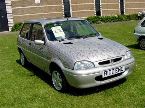 File:247 - 1997 grey Rover 114 GTa - last Rover 100 ever ...