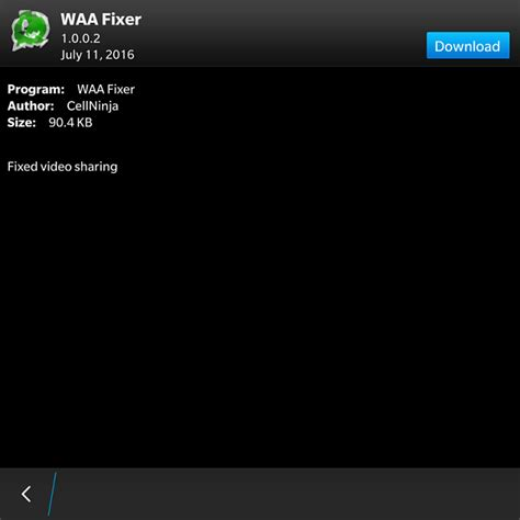 solution apk whatsapp not send files blackberry