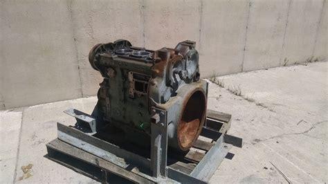 engine detroit diesel dt  engine short block core