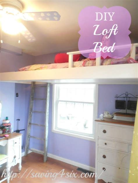 simple diy loft bed plans