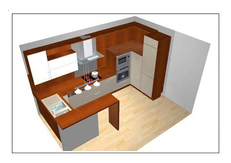 cuisine sur plan cuisine ouverte sur le séjour plan 03