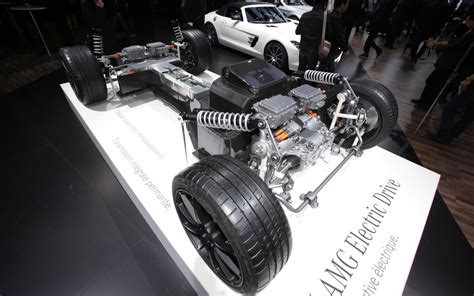 Electric Motor Drive by 2012 Mercedes Sls Amg Electric Drive Is Most