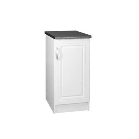meuble cuisine bas 30 cm meuble bas de cuisine dina 30 cm 1 porte 1 étagère moulures mdf