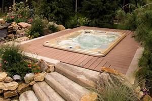 Spa Extérieur Bois : le jacuzzi encastrable ~ Premium-room.com Idées de Décoration