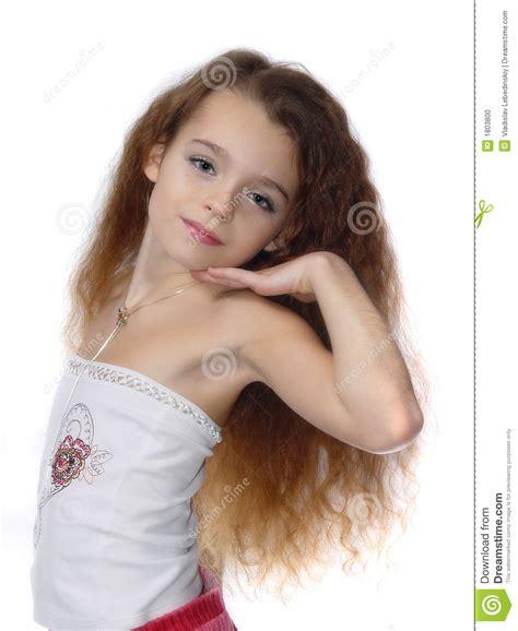 Petite Fille Exprimant Le Modèle De Photo Photo Stock Image Du Adorable Chéri 1803800