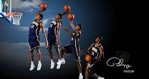 Huge Wallpaper Bundles: Paul George Dunk Shot NBA 2013