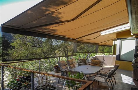 patio deck retractable awnings southern oregon s leading