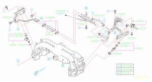 2010 Subaru Impreza Injector Sub Assembly  Manifold
